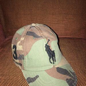 Polo camo hat